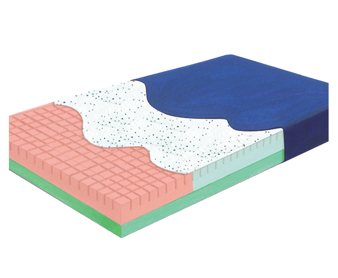 Pressure-Check™  Mattress with Gel-Infused Visco Foam